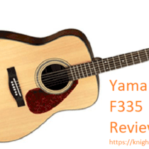 Yamaha F335 Acoustic Guitar Review